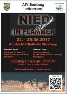 Nied im Flammen Revival @ Siersburg | Rehlingen-Siersburg | Saarland | Deutschland