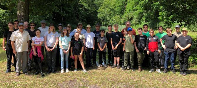 Projektwoche der Lothar-Kahn-Schule Rehlingen am Metzerbachweiher